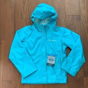 NEW Columbia omnitech jacket for girls